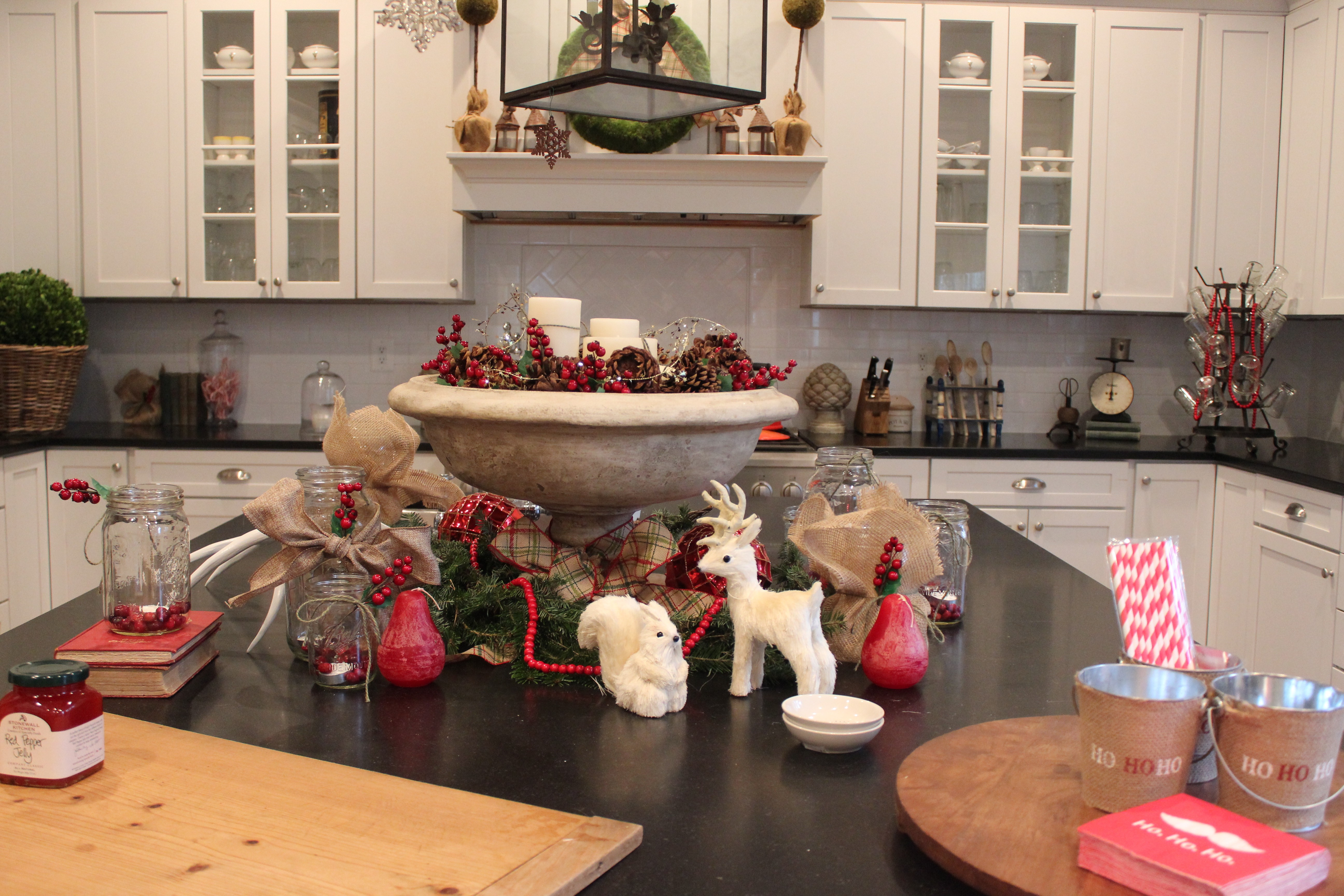 Christmas Decor The Kitchen A Secret