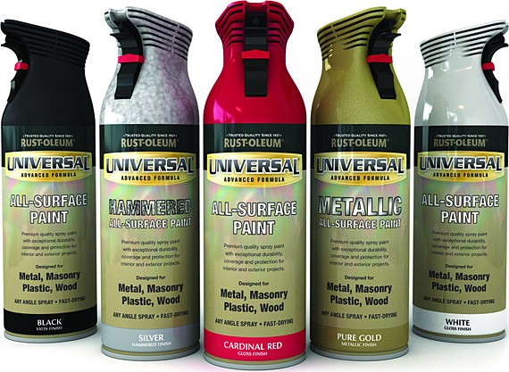 Rust oleum Spray paint for metal