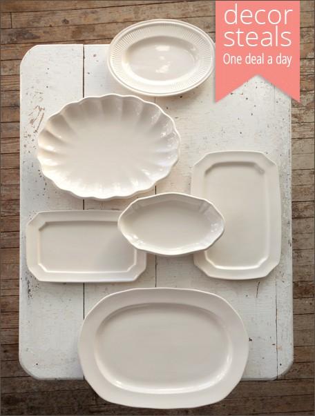 ironstone-platters