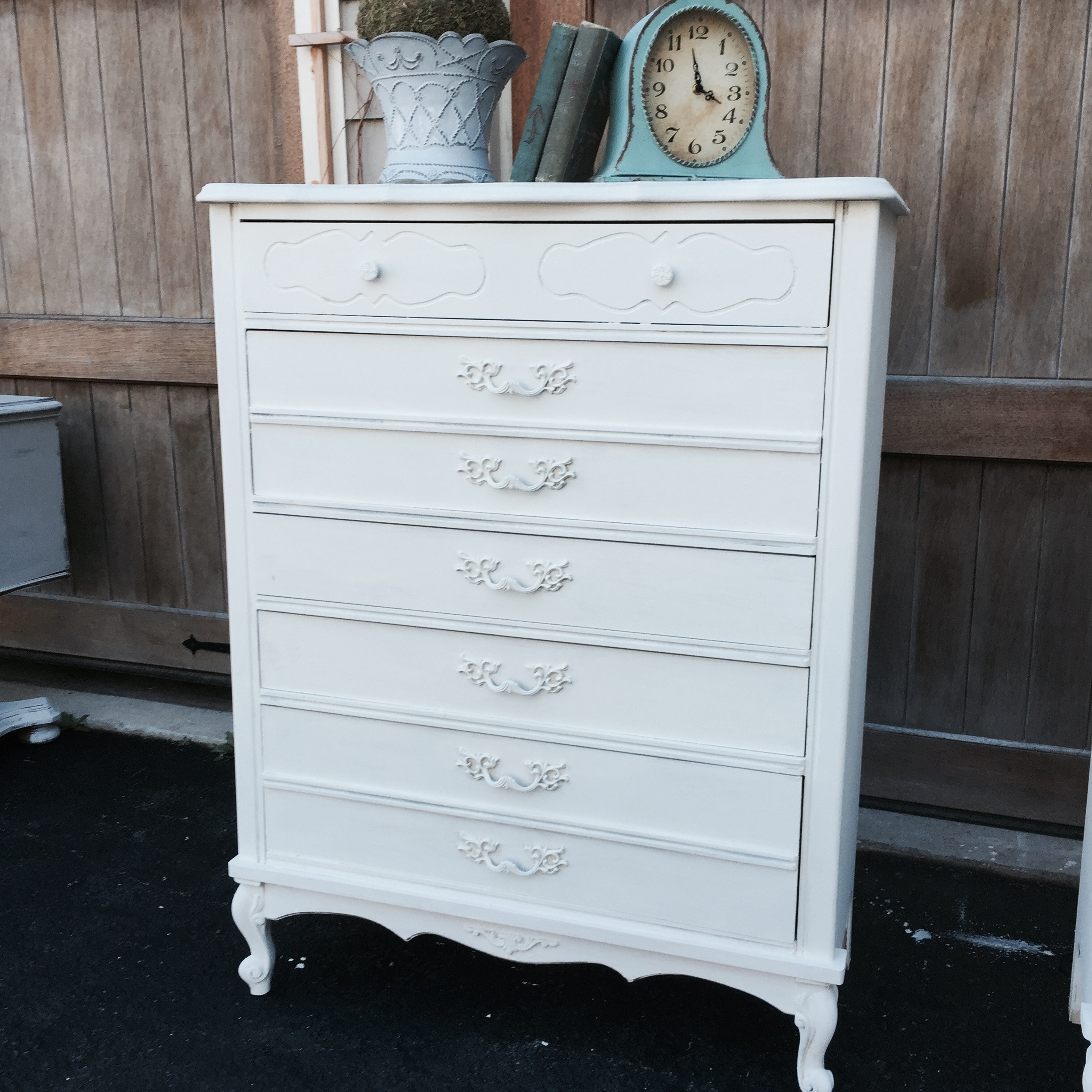 century white high gloss products no mid vintage modern dresser